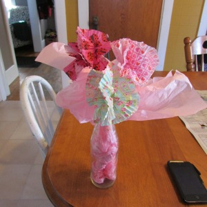 Cupcake Paper Flowers